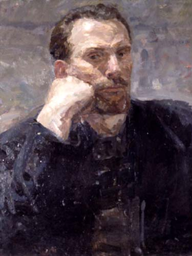 П.Н. Андрианов. Автопортрет