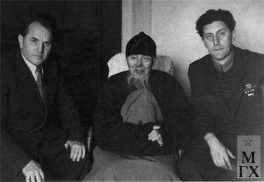 Л.Д. Муравин, Ци Бай Ши, Л.Е. Кербель.