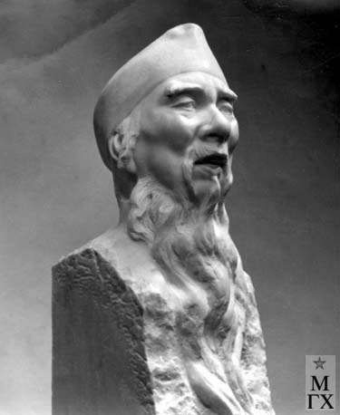 Л.Д. Муравин. Ци Бай Ши. 1955.