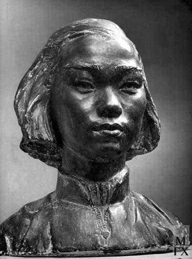 Л.Д. Муравин. Шанхайская студентка. 1955
