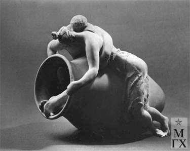 Л.Д. Муравин. Из Метаморфоз. 1971. Терракота.