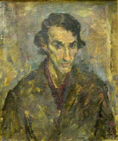 Д.И. Рубинштейн. Портрет Костальского. 1968. 58х49.
